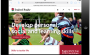 Launch of englandrugbyteachersresource.com